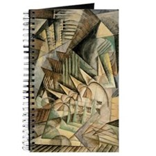 Rush Hour by Max Weber Vintage Cubism Journal
