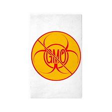 NO GMO Rug Bio-hazard 3'x5' Area Rug