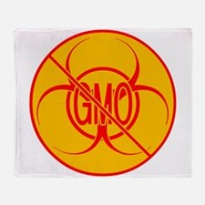 NO GMO Blankets Bio-hazard Throw Blanket
