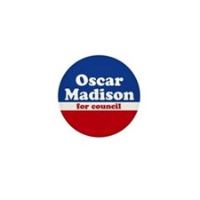 Oscar Madison for Council Mini Campaign Button