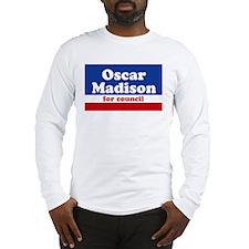 Oscar Madison for Council Long Sleeve T-Shirt