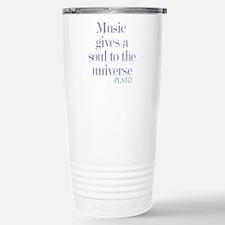 Music gives soul Travel Mug