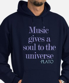 Music gives soul Hoodie