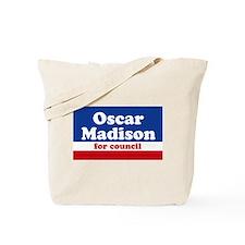Oscar Madison for Council Tote Bag