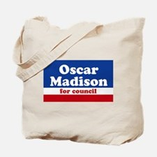 Oscar Madison for Council Tote Bag