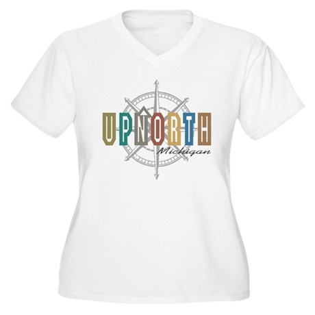 up north Michigan Plus Size T-Shirt