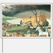 Noah's Ark by Edward Hicks Yard Sign