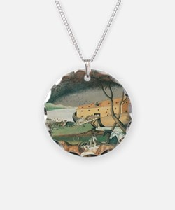Noah's Ark by Edward Hicks Necklace