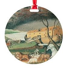 Noah's Ark by Edward Hicks Ornament