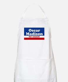 Oscar Madison for Council BBQ Apron