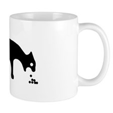 Vomiting Cat Small Mugs