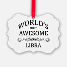 World's Most Awesome Libra Ornament