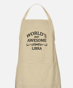 World's Most Awesome Libra Apron