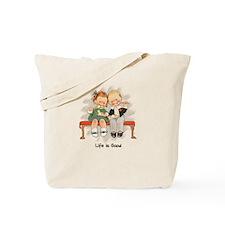 Life is Good ~#1 Tote Bag