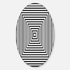 Hypno Designer Oval Decal