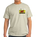 Liberal Hunt Permit Ash Grey T-Shirt