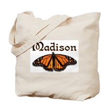 """""""Madison Monarch Butterfly"""" Tote Bag"""