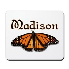 """Madison Monarch Butterfly"" Mousepad"