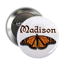 """""""Madison Monarch Butterfly"""" Button"""
