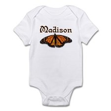 """Madison Monarch Butterfly"" Infant Bodysuit"
