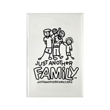 Just Another Family- Men Rectangle Magnet