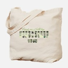 Cute Reporter Tote Bag
