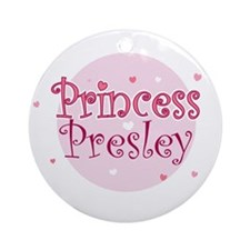 Presley Ornament (Round)
