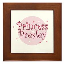 Presley Framed Tile