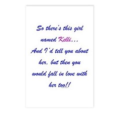 Girl Named Kelli Postcards (Package of 8)