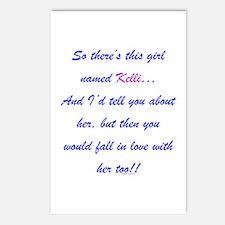 Girl Named Kelli Postcards (Package of 8)