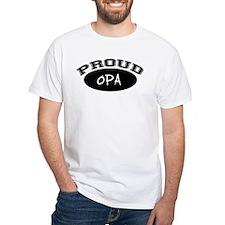 Proud Opa (black) Shirt