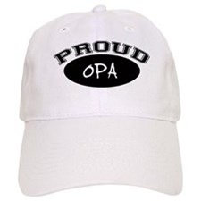 Proud Opa (black) Baseball Cap