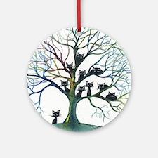 Culpeper Stray Cats Round Ornament