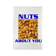 NUTS ABOUT YOU Rectangle Magnet