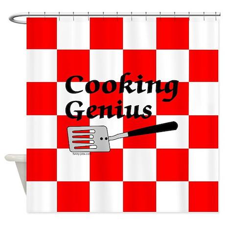 Cooking Genius Shower Curtain
