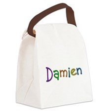Damien Play Clay Canvas Lunch Bag