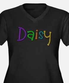 Daisy Play Clay Plus Size T-Shirt