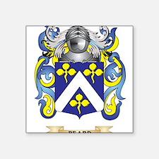 Beard Coat of Arms Sticker