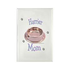 Harrier Mom Rectangle Magnet