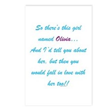 Girl Named Olivia Postcards (Package of 8)