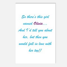 Girl Named Olivia Postcards (Package of 8)