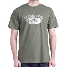 Proud Opa (white) T-Shirt