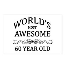 World's Most Awesome 60 Year Old Postcards (Packag