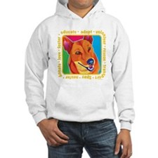 Bright Colored Dog Hoodie