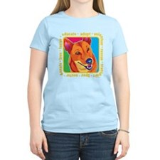 Bright Colored Dog T-Shirt