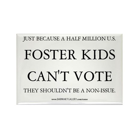 Foster Kids Need You! - Rectangle Magnet (10 pack)