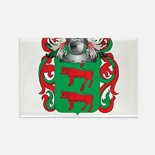 Becerra Coat of Arms Rectangle Magnet