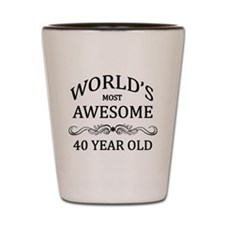 World's Most Awesome 40 Year Old Shot Glass
