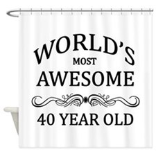 World's Most Awesome 40 Year Old Shower Curtain