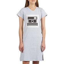 Vintage Instant Camera Women's Nightshirt